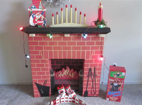 Where To Buy Fireplace Bellows by Reserve Vintage Christmas Mid Century Cardboard Fireplace