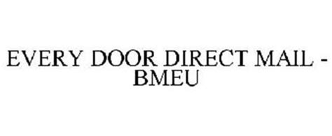 usps every door direct every door direct mail bmeu trademark of united states