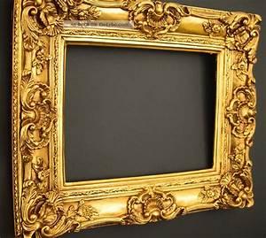 Bilderrahmen 50 X 40 : prunk bilderrahmen 60 x 50 cm 30 x 40 cm gold gem lde rahmen barockrahmen ~ Yasmunasinghe.com Haus und Dekorationen