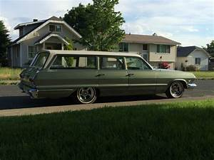 1963 Chevrolet Bel Air Station Wagon Mild Custom   Lower