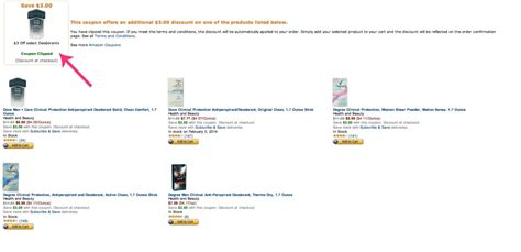 coupon amazon coupons subscribe save clipped eligible shown below open items