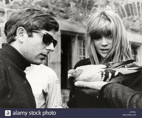 francoise dorleac roman polanski cul de sac roman polanski 1966 stock photos cul de sac
