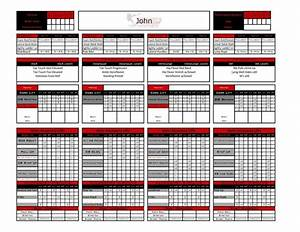 excel personal training templates fitness industry With personal training program template