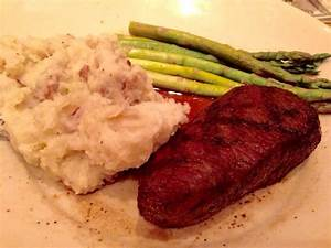 Chargrilled Coulotte Steak w/ mashed potatoes (subbed) and ...