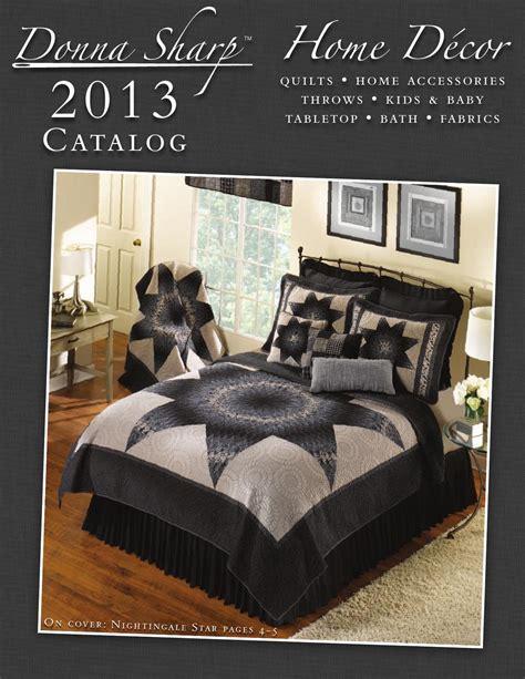 home interior catalog 2013 2013 donna sharp home décor catalog by donna sharp inc