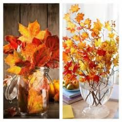 d 233 coration pas cher avec des feuilles d automne