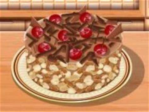 jeu ecole de cuisine de gâteau au chocolat sur jeux com