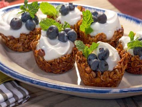 granola parfait cups recipe nancy fuller food network
