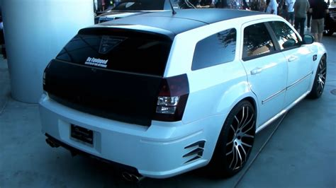 dodge magnum custom white wallpaper