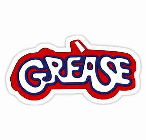 """Grease Logo"" Stickers by RockabillyAnt Redbubble"