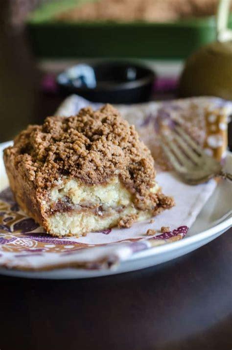 Follow us in instagram @coffeecake_nn; Cinnamon Coffee Cake with Streusel Crumb Topping • Go Go Go Gourmet
