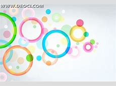 Colorful background vector AI file download ring DEOCI