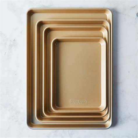 baking sheet nordic ware gold sets nonstick food52