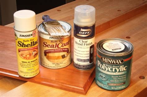 Varnishes And Spray Lacquer
