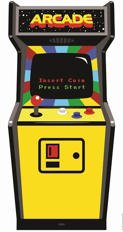 Arcade Clipart Games Machine Cabinet Rental 80s