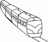 Train Coloring Colorear Tren Colouring Metro Sheet Trains Transportes Template Transportation Sketch Ticket Clip Tunnels Clipart 360coloringpages Pasajeros Printables sketch template