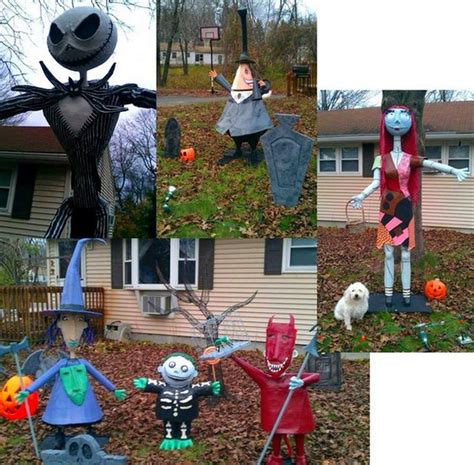 nightmare before yard decorations 188 best nightmare before decorations images on