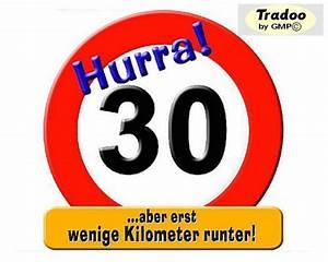 30 Dinge Zum 30 Geburtstag : geburtstags schild hurra 30 d50cm ideen f r events suchen kaufen ~ Bigdaddyawards.com Haus und Dekorationen