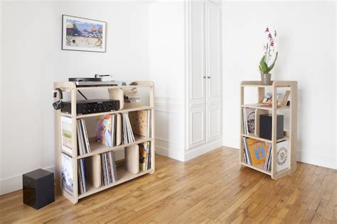 ranger ses vinyles s 233 lection meuble vinyle rangement pour mes platines d 233 co clem