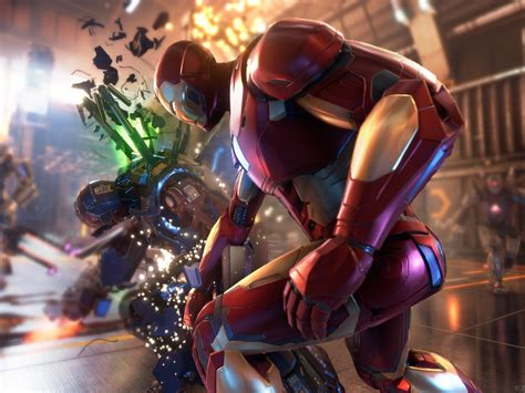 1024x768 Iron Man Marvel's Avengers 2020 Game 1024x768 ...