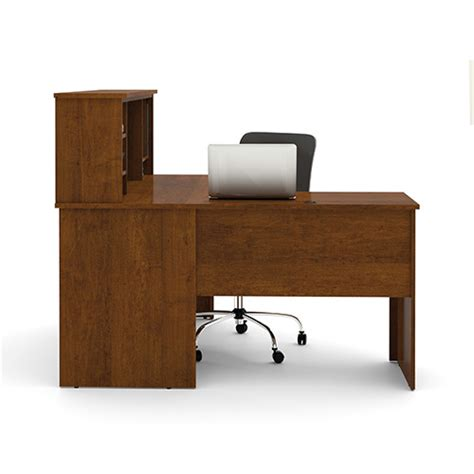 bestar somerville l shaped desk with hutch somerville tuscany brown l shaped desk with hutch bestar