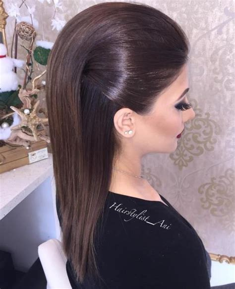 HD wallpapers prom hairstyles for medium length straight hair