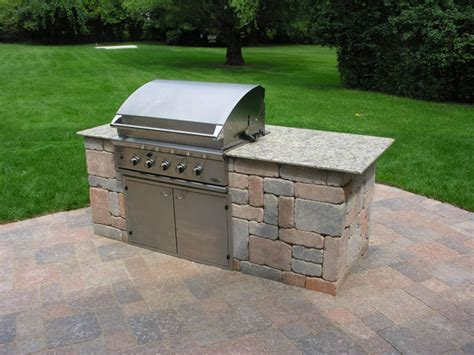 Island Grill by Apple Landscaping Grills Islands And Bars