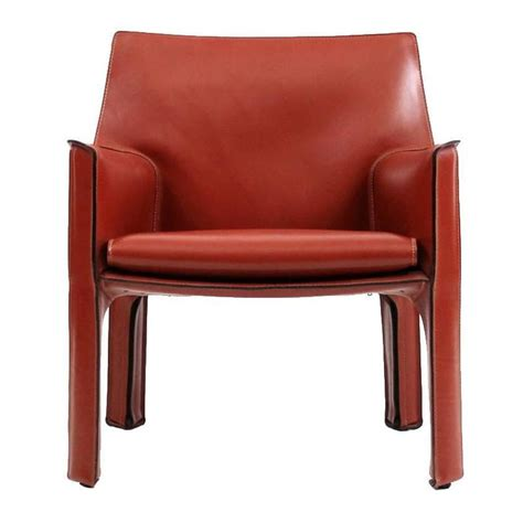 cab lounge chair by mario bellini for cassina at 1stdibs
