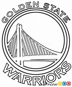 How to Draw Golden State Warriors, Basketball Logos - How ...