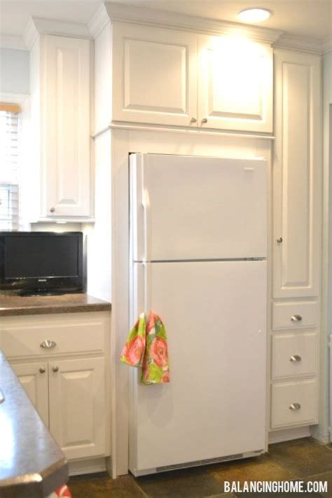 25  best ideas about Refrigerator cabinet on Pinterest