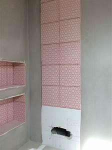 pose profil carrelage nez de marche alu carrelage profil With carrelage adhesif salle de bain avec dalle led saillie