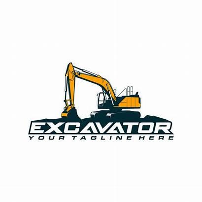 Excavator Vector Template Premium Freepik