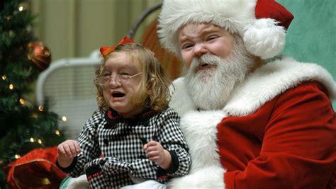 escape  creepiness   santa face swaps