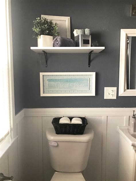 Goodbye, Pine Cabinets!  Grey Bathrooms, Batten And Neutral