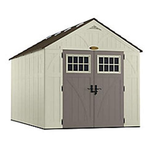 suncast 8 ft x 13 ft tremont storage shed the home