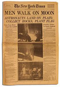 Neil Armstrong Newspaper Article 1969 - Pics about space