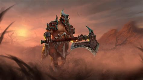centaur warrunner dota  art wallpapers hd