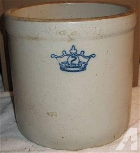 antique stoneware crock 2 blue antique stoneware crock 2 blue crown medium size for