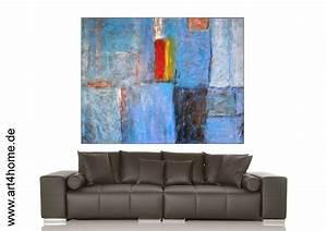 Terrassenholz Günstig Kaufen : blaue unendlichkeit acrylmischtechnik leinwand mit spachtelmasse 140 105 cm original 840 ~ Markanthonyermac.com Haus und Dekorationen