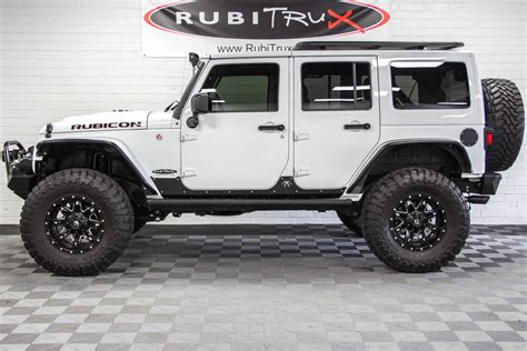 2017 Jeep Wrangler Rubicon Hard Rock Unlimited White