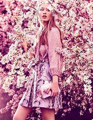 Flower Photography High Fashion Editorial