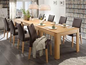 Esstisch Und Stühle Modern : tischgruppe kernbuche esstisch 8 st hle allround louisa m o griff braun ebay ~ Bigdaddyawards.com Haus und Dekorationen