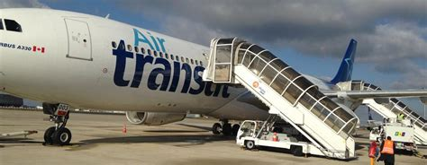 avis du vol air transat montreal en affaires