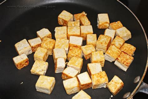How To Properly Cook Tofu, And Why  It's About Travelling