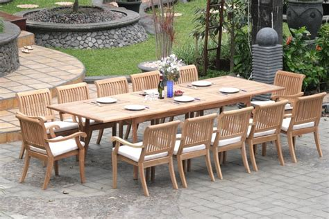 buying tips  choosing   teak patio furniture