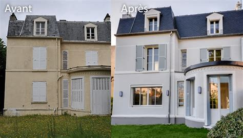 Facade Avant Apres by Le Ravalement De Fa 231 Ade Agence De Noisy Le Grand