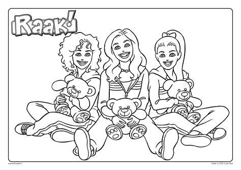Kleurplaat Moederdag Teddybeer by Kleurplaat Teddybeer Daan Roos En Raak