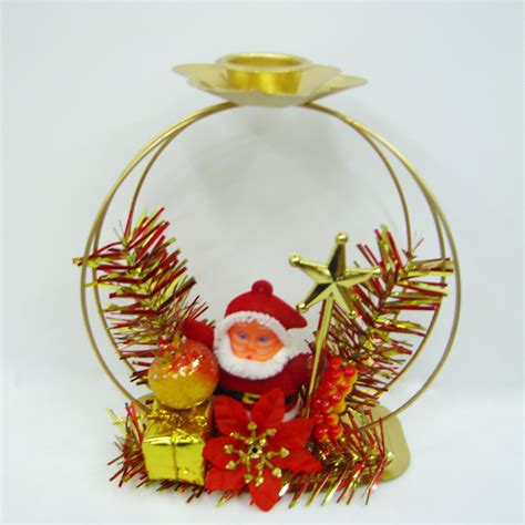 china christmas candle holder fw8549 china christmas
