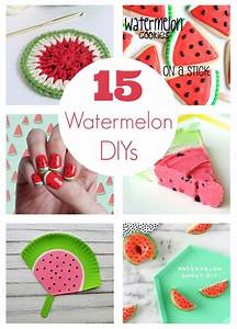 15 Watermelon DIY Projects for National Watermelon Day