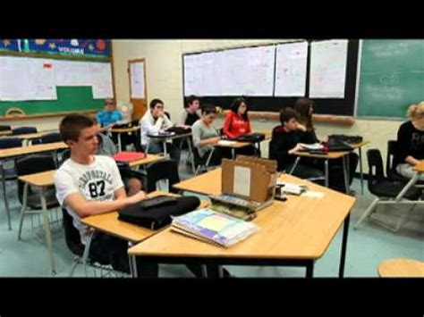 Lockdown drill at Belle River District High School - YouTube